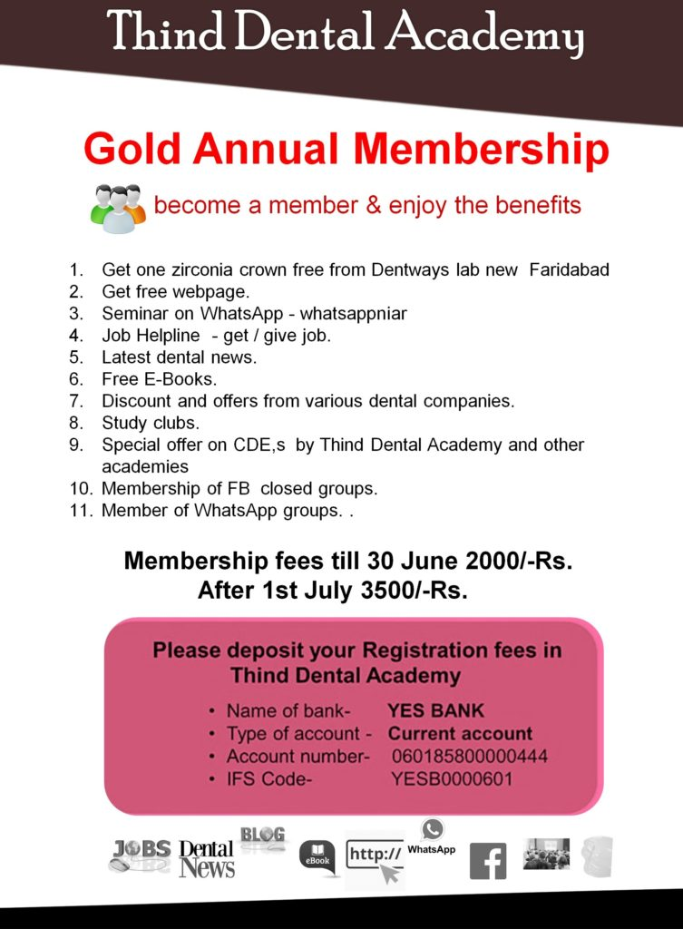 Let's create your Growth Strategy Together, Become a member of Thind Dental  Academy & enjoy the benefits.